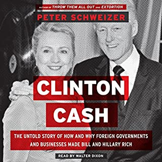 Clinton Cash audiobook cover art