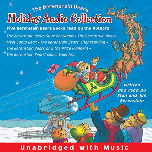 The Berenstain Bears Holiday Audio Collection audiobook cover art