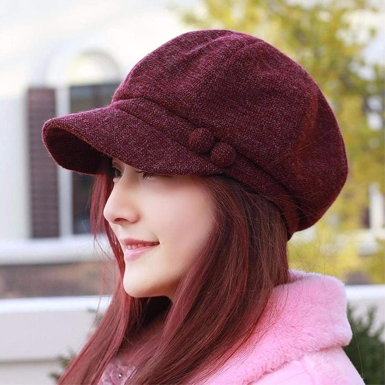 Chuangshengnet Hat, female, four quarter cap, octagonal hat, cap, lady fashion hat, hat painter, capules