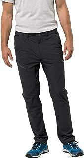 JACK WOLFSKIN Erkek Spor Pantolonları HILLTOP TRAIL PANTS M, Siyah, W90 (Üretici ölçüsü: 50)