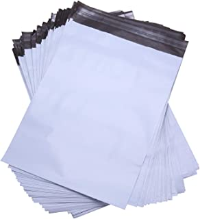 """Lekzai 12"""" x 16"""" Poly Mailers,White Self Sealing Poly Shipping Envelope Mailers - 100 Pack"""