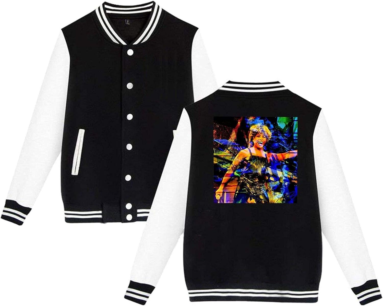 Tina Turner 100% quality warranty Mens Slim Fit Max 60% OFF Jacket Sport Baseball Varsity Coat