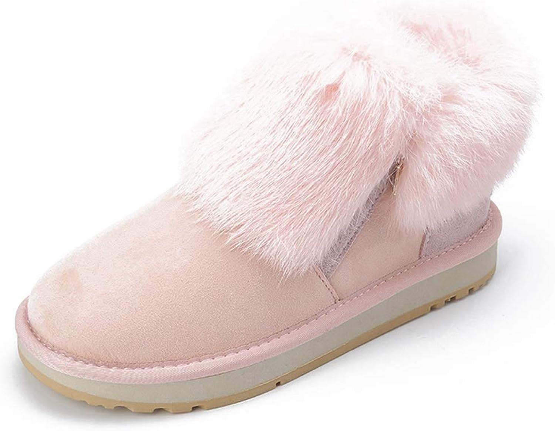 Winter Snow stövlar kvinnor Flat Fur Ladies Plush Booslipss Kvinnliga Kvinnliga Kvinnliga skor  butik försäljning försäljningsstället