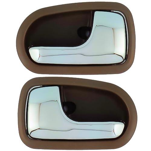 LEFT PASSENGER SIDE MIRROR GLASS FOR MAZDA 121 1990-1997
