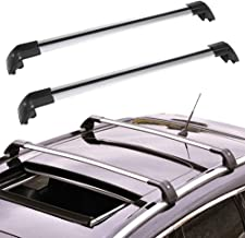 ROADFAR Roof Rack Aluminum Top Rail Carries Luggage Carrier Fit for 2013 2014 2015 2016 2017 2018 2019 Mitsubishi Outlander Sport Utility Baggage Rail Crossbars
