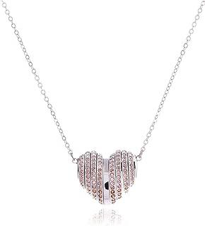 Swarovski Women's Rhodium Plated Necklace - 5181467