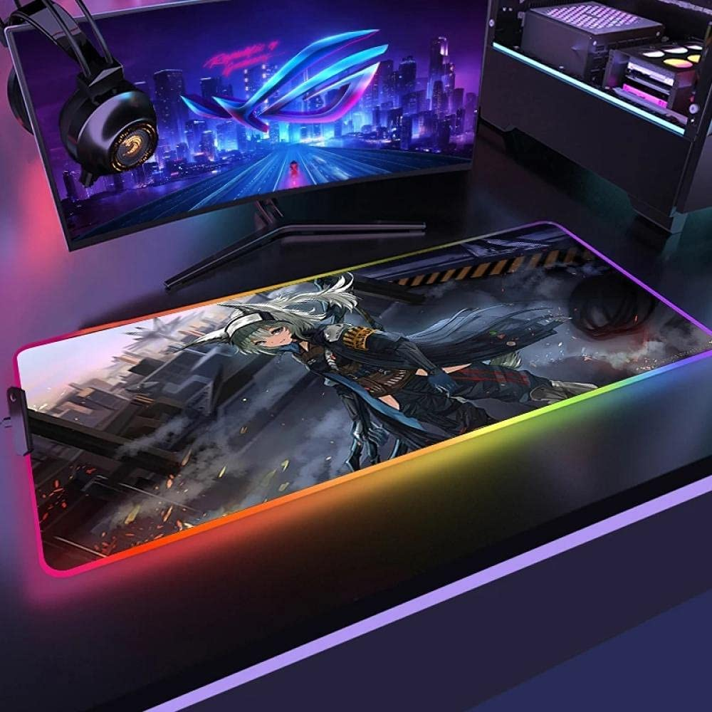 Rare Max 65% OFF Mouse Pads Arknights Pad RGB Off for Gamer 900X400mm Large