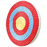 Swatlo Archery Targets for Bow and Arrow 3&5 Layers 20 Inch by Traditional Hand-Made Straw Archery Targets for Backyard Youth & Adult Archery Practice