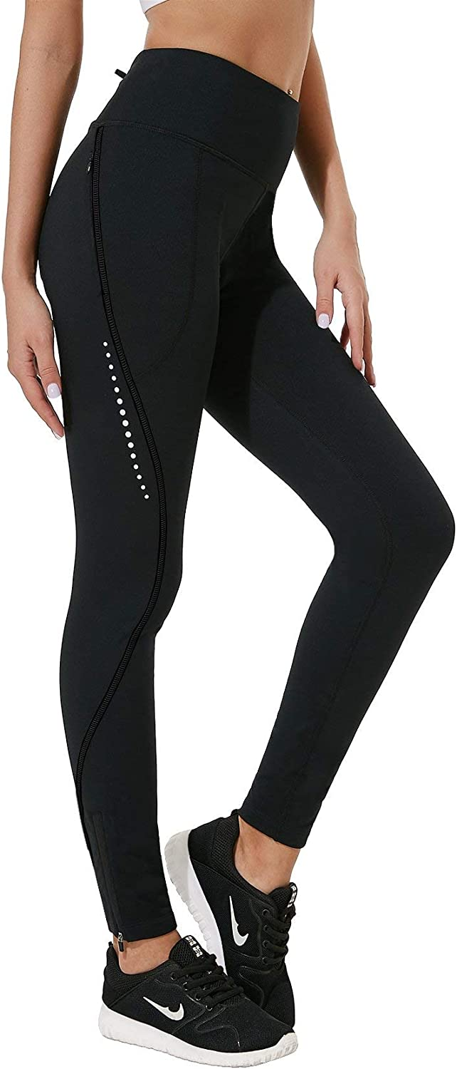 FitsT4 Baltimore Mall Thermal Fleece Lined Cycling Year-end annual account Legging Winter Tights Hiking