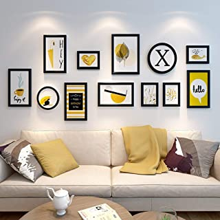 OH Conjunto de marcos de fotos de madera en el centro comercial residencial montado en la pared- Modernos marcos de cuadro...