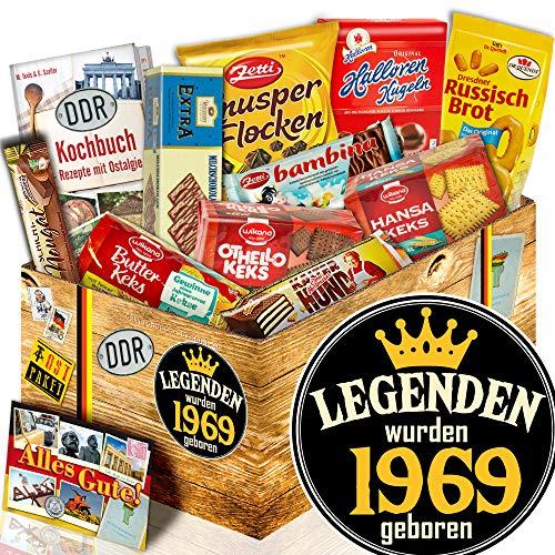 Keks Schokolade / Ost Paket / Legenden 1969 / Geschenk zum Geburtstag