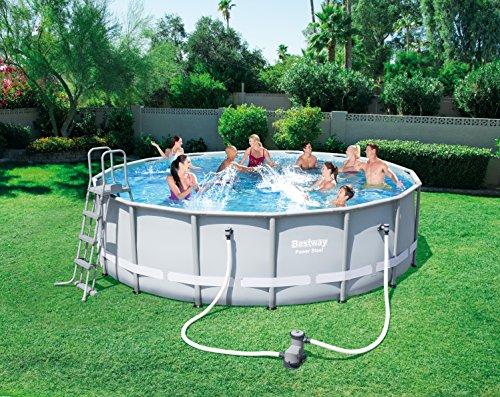 Bestway Frame Pool Power Steel Set 488×122 cm - 3