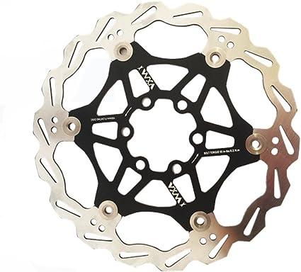 2pcs mi.Xim Super-light Hydraulic Disc Brake Bike Rotor 160 180 203mm