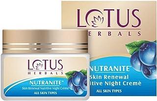 Lotus Herbal Nutranite Skin Renewal Nutritive Night Cream | 50g