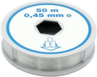 Christoph Palme Manualidades Hilos 0,45 mm L=– Sedal de Pesca de Nylon