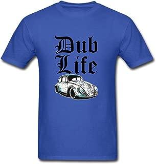 Custom Men's Thug Dub Life Beetle Rat Classic Camper T-Shirts