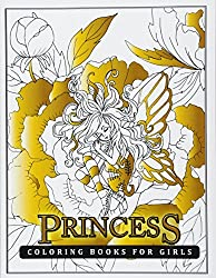 Princess Coloring Books for Girls