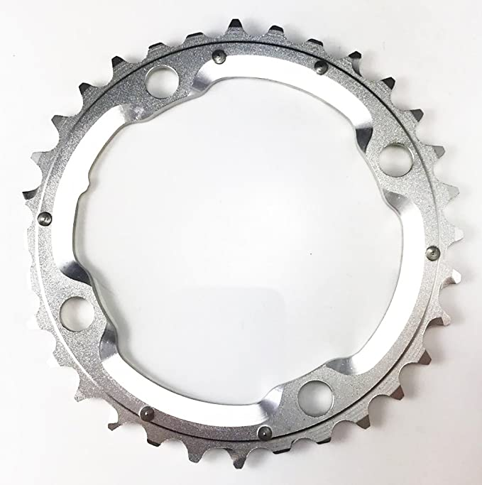 Aerozine Chain Ring 7075AL T6 CNC Machined 3x9 speed BCD104mm//44-32-22T Shimano