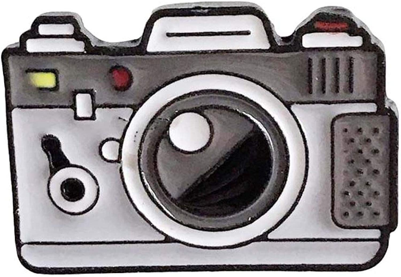 fublousRR5U Unisex Enamel Brooch Pin of Camera Shape, Jacket Bag Badge Corsage Accessories