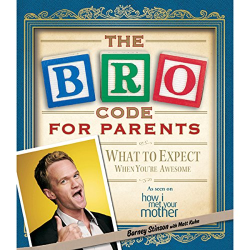 Bro Code for Parents audiobook cover art