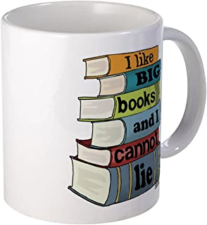 CafePress I Like Big Books Mug Unique Coffee Mug, Coffee Cup