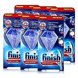 Calgonit Finish Protector 30 g – Protección de color y brillo – aprox. 30 lavados (6 unidades)
