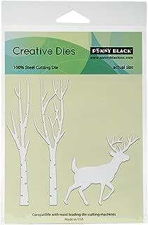 Penny Black Creative Metal die, 51-270,Beneath The Birches
