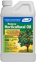 Monterey LG 6299 Horticultural Oil Concentrate Insecticide/Pesticide Treatment for Control of Insects, 32 oz