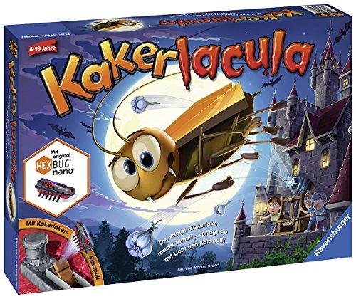 Ravensburger Kinderspiele 22300 - Kakerlacula 22300 - Spiel für Kinder ab 6 Jahren