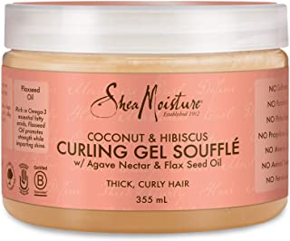 Shea Moisture Coconut and Hibiscus Curling Gel Souffle, 355 ml