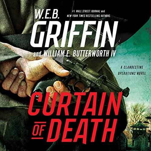 Curtain of Death audiobook cover art