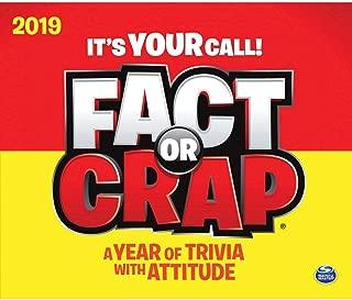 2019 Fact or Crap Desk Calendar, by Calendar Ink