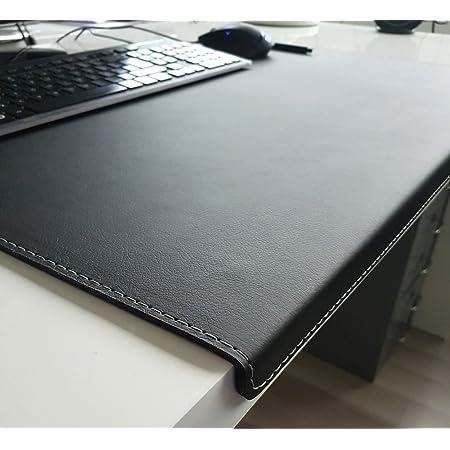 Raso gewinkelte Schreibunterlage aus Leder mit Kantenschutz 60x40cm in 6 Farben