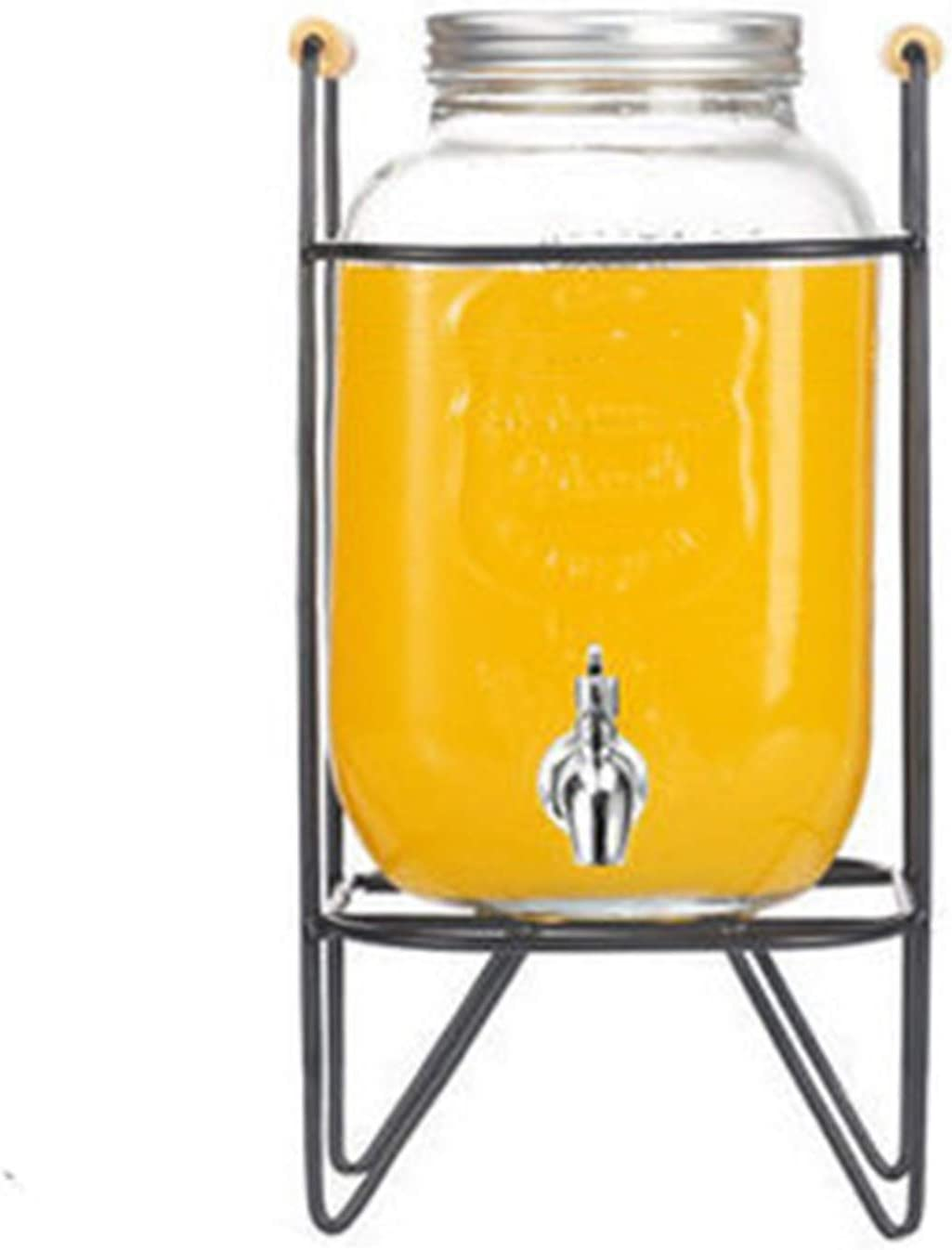 Juice High quality new Dispenser Glass Drinks Outdoor Picnic Mason Special price for a limited time Home