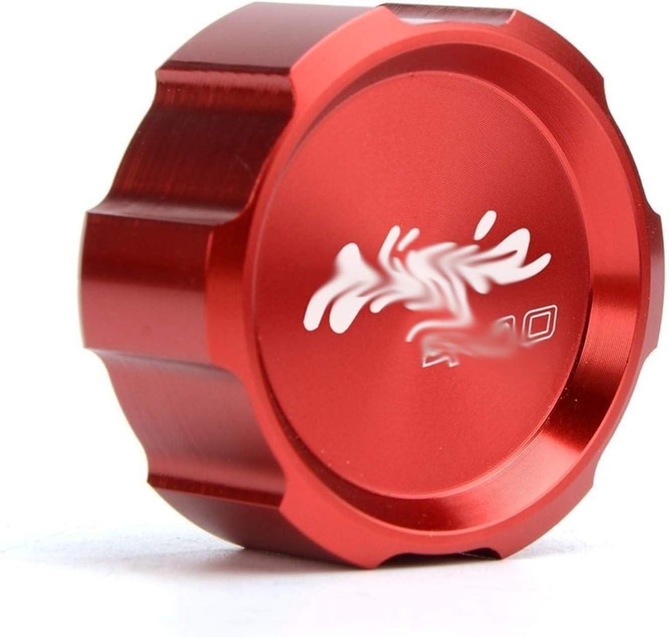 Ajuste for Ninja400 2018-2019 BGGZZG Aluninum Freno Delantero Trasero Fluid Cilindro Maestro embalse de la Cubierta del Casquillo de Piezas//Fit for Kawasaki//Fit For Ninja 400