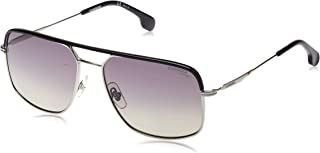 نظارة شمسية للرجال من كاريرا، افياتور، 152/S - لون اسود/رمادي