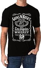 Guns N Roses GNR Good Time Old No. 1 November Rain Whiskey Men's T-Shirt