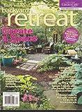 Easy Weekend Backyard Retreat Magazine Spring 2013