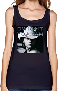 DoohcwBDJ Dwight Yoakam If There was A Way Woman's Summer Musical Tank Top Sexy Sleeveless Tops