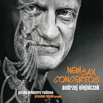 New Sax Concertos