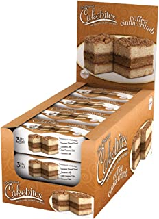 The Original Cakebites Coffee Cinna-Crumb, 12 Count - 2 oz Units per box