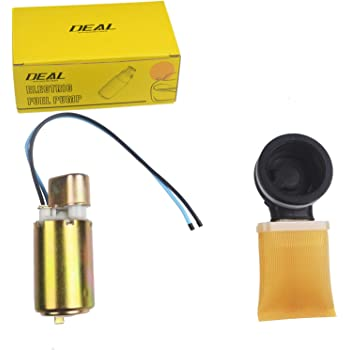 LQQDP New 1pcs High Performance Fuel Pump Assembly Replacement With Strainer /& Rubber Gasket Fit Kawasaki 02-06 Prairie 650//700 03-09 KFX700 05 Brute Force 650 Compatible with 18102H01 16700-MG9-771