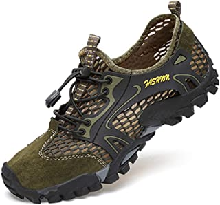 Suede Mesh Outdoor Males Sneakers Climbing Shoes Males Sport Quick-dry Water Shoes