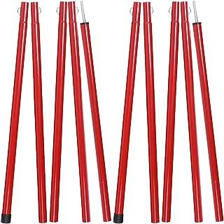 Soomloom outdoorポール タープ用ポール テント用ポール 5節ワンセット 2セット