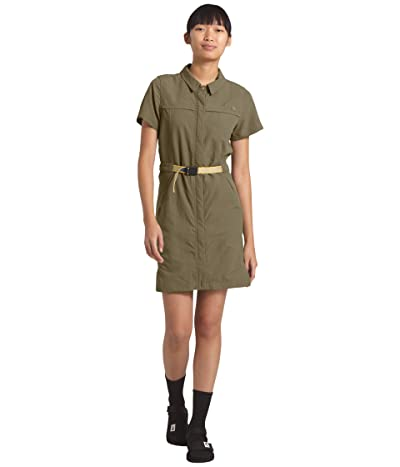The North Face Class V Dress (Burnt Olive Green) Women