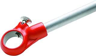 RIDGID 30118 Manual Pipe Threader for Model 12-R, Manual Ratcheting Tap Handle for Threading Dies (Ratchet and Handle Only)