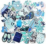 Blue Stickers for Water Bottle Trendy Teen Girls Laptop...