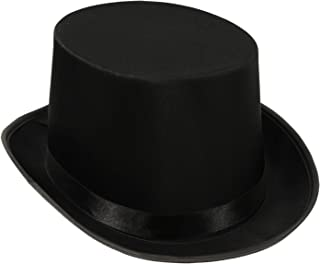 Beistle Satin Sleek Top Hat | Black | (1-Unit)