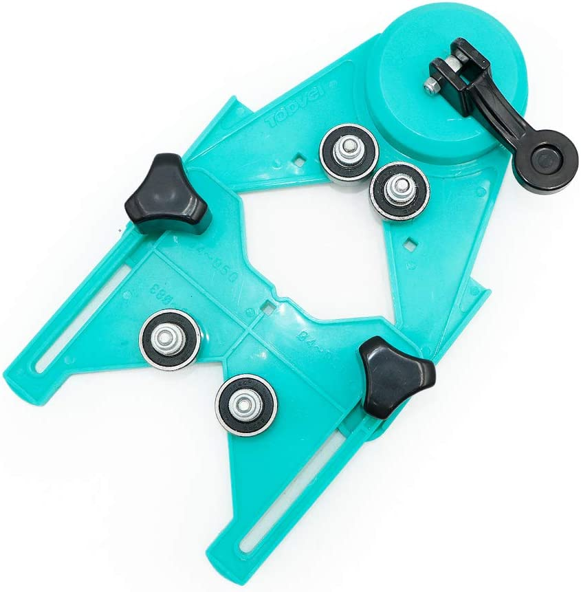 Drill guide with suction cup