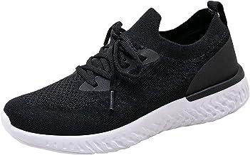 BingThL Chaussures de randonnée sportives pour femme - Maille décontractée et confortable - Chaussures légères à enfiler -...